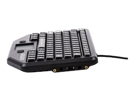 Panasonic FULL-TRAVEL KEYBOARD WITH ATTACHMENT VERSATILITY, IK-TR-911-RED-P, 37413896, Keyboards & Keypads