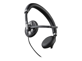 Plantronics BlackWire 725 UC PC Computer Binaural Headset w  Noise Cancelling, 202580-01, 18419272, Headsets (w/ microphone)