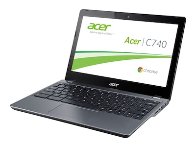 Acer Chromebook C740-C3P1 Celeron 3205U 1.5GHz 2GB 16GB SSD ac BT WC 11.6 HD ChromeOS, NX.EF2AA.001, 35917492, Notebooks