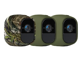 Netgear Arlo Pro Skins - Set of 3 Black Skins, VMA4200-10000S, 34258499, Camera & Camcorder Accessories