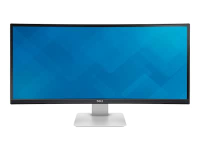 Dell 34 U3415W WQHD LED-LCD Curved Monitor, Black, U3415W, 18396867, Monitors