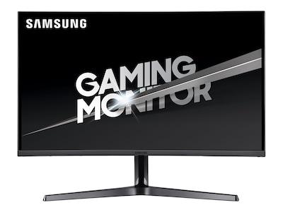 Samsung 32 CJG5 WQHD LED-LCD Curved Monitor, Dark Silver, C32JG50QQN, 36228171, Monitors