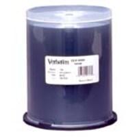 Verbatim CD-R 52X 80 MIN 700MB Shiny Silver, 100 Pack Spindle, 94797, 4895972, CD Media