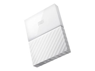 WD 4TB My Passport USB 3.0 Portable Hard Drive - White, WDBYFT0040BWT-WESN, 32484898, Hard Drives - External