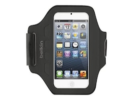 Belkin Ease-Fit Armband for iPod Touch 5th Gen, Blacktop, F8W149TTC00, 32660231, Carrying Cases - iPod