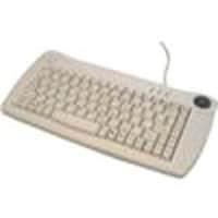 Adesso Mini Trackball USB Keyboard, ACK-5010UW(MIN QTY 10), 4900487, Keyboard/Mouse Combinations