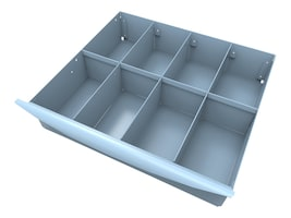 8 Compartment Storage Tray, 51-3598, 16118100, Computer Carts - Medical