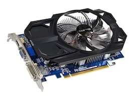 Gigabyte Tech AMD Radeon R7 240 PCIe 3.0 x8 Overclocked Graphics Card, 2GB DDR3, GV-R724OC-2GI REV2.0, 18474554, Graphics/Video Accelerators
