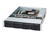 Supermicro CSE-825TQC-R1K03LPB Main Image from Front