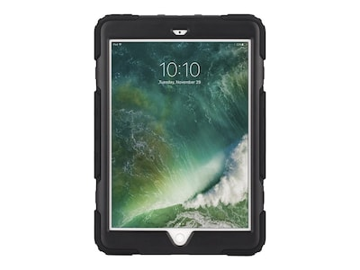 Griffin Survivor All Terrain Case for 5th Gen iPad, Smoke Black, GB43543, 33931442, Carrying Cases - Tablets & eReaders