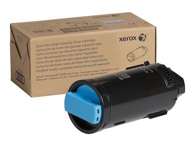 Xerox Cyan Extra High Capacity Toner Cartridge for VersaLink C600 Series, 106R03916, 34355230, Toner and Imaging Components - OEM