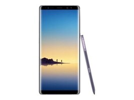 Samsung Galaxy Note8 Smartphone, 64GB - Orchid Gray (Unlocked), SM-N950UZVAXAA, 34520637, Cell Phones