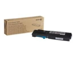 Xerox Cyan High Capacity Toner Cartridge for Phaser 6600 & WorkCentre 6605 Series, 106R02225, 14736300, Toner and Imaging Components