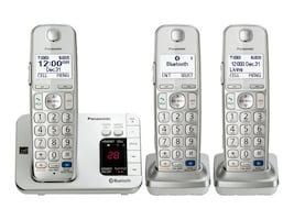 Panasonic Link2Cell Bluetooth Enabled Phone w  Answering Machine & (3) Cordless Handsets, KX-TGE263S, 17487011, Telephones - Consumer