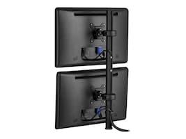Atdec Spacedec Dual Monitor Display Donut Pole Mount, SD-DP-750, 10540431, Stands & Mounts - Desktop Monitors