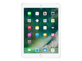 Apple iPad 9.7, 128GB, Wi-Fi+Cellular for Apple SIM, Silver, MP2E2LL/A, 33870707, Tablets - iPad