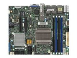 Supermicro Motherboard, X10SDV-7TP8F Flex ATX Xeon 16C D-1587 Max.128GB DDR4 4xSATA+16xSAS SATA 2x10G 6xGbE, MBD-X10SDV-7TP8F-O, 31626946, Motherboards