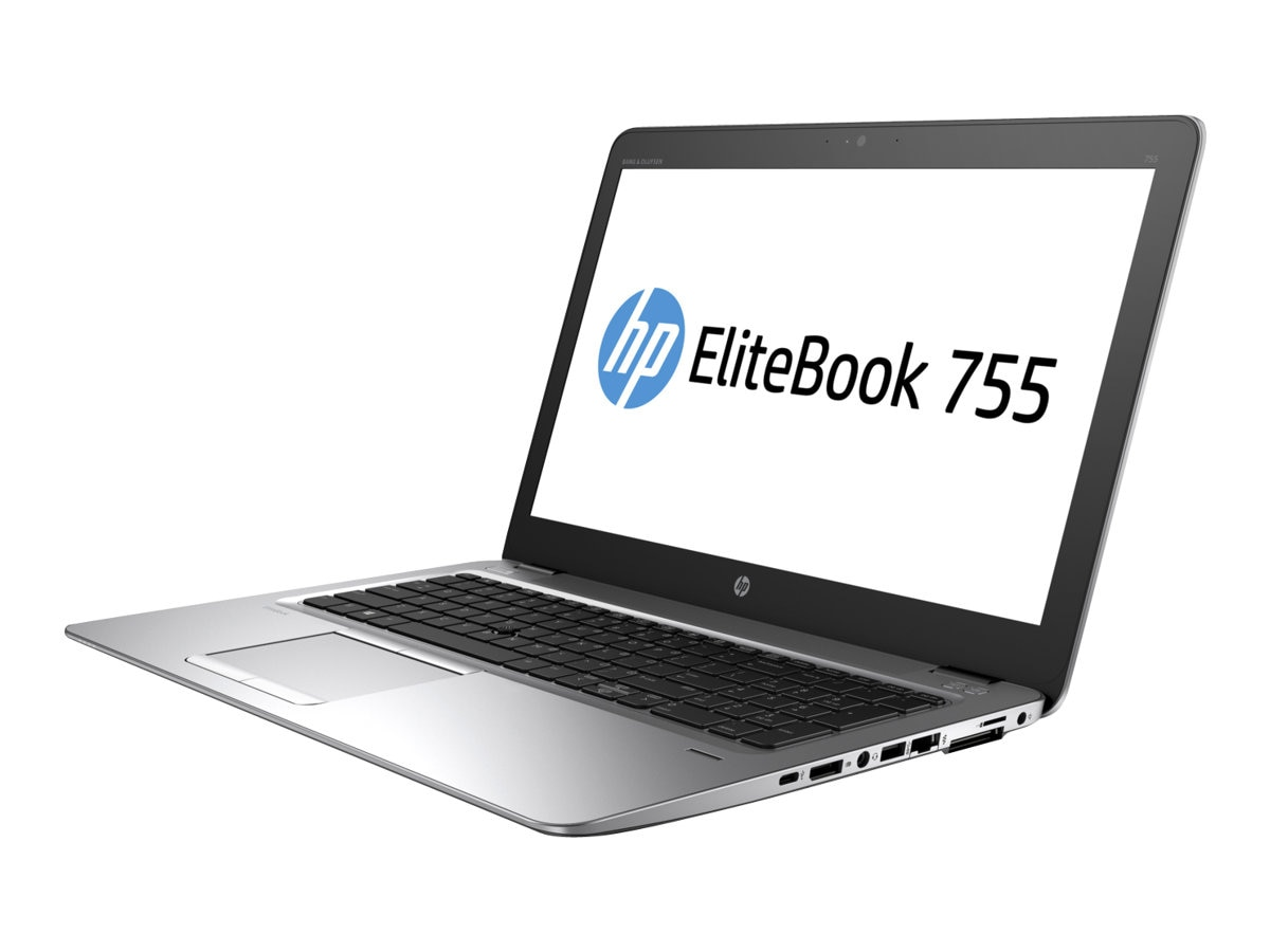 HP EliteBook 755 G4 2.4GHz A10 Series 15.6in display, 1FY98UT#ABA, 33795321, Notebooks