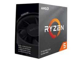 AMD Processor, AMD 6C Ryzen 5 2600 3.4GHz 3.9GHz Turbo 16MB L3 Cache 65W 2933MHz DDR4, YD2600BBAFBOX, 35520401, Processor Upgrades