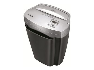 Fellowes W-11C Powershred Cross Cut Shredder, 3103201, 9773704, Paper Shredders & Trimmers