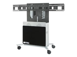 Avteq Elite Technology Stand for Displays up to 80, ELT--2100S-B, 32918393, Stands & Mounts - Digital Signage & TVs