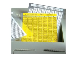 Panduit .75 x .25 Laser Component Silver Labels (10000 Labels), C075X025YML, 35422676, Paper, Labels & Other Print Media