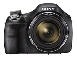 Sony Cyber-shot DSC-H400 Digital Camera, 20.1MP, 63x Zoom, Black, DSCH400/B, 30910582, Cameras - Digital
