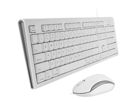 Macally USB MAC KEYBOARD & MOUSE       ACCSFULL SIZE USB WIRED MAC KEYBOARD, QKEYCOMBO, 36614848, Keyboards & Keypads