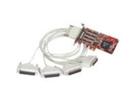Comtrol RocketPort PCI Express 4-Port DB25M RS232 422 485 Express Quad, 30127-1, 8161706, Remote Access Hardware