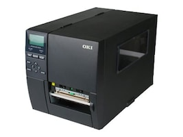 Oki LE840D Direct Thermal USB 2.0 + Serial + Parallel Enterprise Label Printer, 62308101, 15986731, Printers - Label