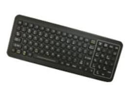 iKEY Sealed Keyboard with Red LED Backlight, Numeric Pad, USB Cable, SB-101-USB, 15051521, Keyboards & Keypads