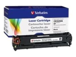 Verbatim CE320A Black Toner Cartridge for HP LaserJet CP1525 & CM1415, 98336, 16248043, Toner and Imaging Components