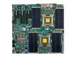Supermicro Motherboard, EATX DP C602 C606 24D-SATA I350 Quad GBIT, X9DRI-LN4F+-O, 13749563, Motherboards