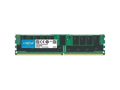 Crucial 32GB PC4-21300 288-pin DDR4 SDRAM RDIMM, CT32G4RFD4266, 33692007, Memory