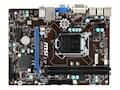 Microstar Motherboard, microATX H81 Express LGA 1150 Core i7 i5 i3 Max.16GB DDR3 4xSATA 2xPCIe GbE, H81M-P33, 16264297, Motherboards