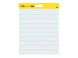 3M 20 x 23 Post-it Wall Pad w  Lines - White (2 Pads 20 Sheets-Per-Pad), 566PRL, 36646410, Paper, Labels & Other Print Media