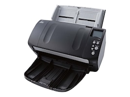 Fujitsu fi-7160 Color Document Scanner, Duplex, 600dpi 60pm, 80-Sheet ADF, TAA, PA03670-B065, 35397010, Scanners