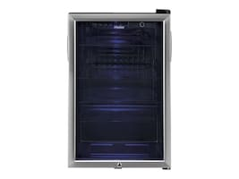 Haier 150 Can Beverage Cooler, HEBF100BXS, 34027412, Home Appliances