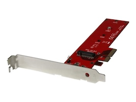 StarTech.com x4 PCI Express to M.2 PCIe SSD Adapter, PEX4M2E1, 32045932, Drive Mounting Hardware