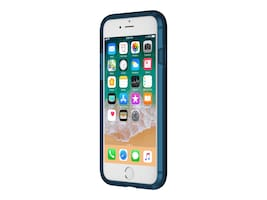 Incipio Haven Lux Protective Case w  Glossy Finish for iPhone 7 iPhone 8, Navy, IPH-1473-NVY, 34607901, Carrying Cases - Phones/PDAs