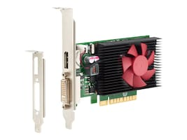 HP NVIDIA GeForce GT 730 PCIe Graphics Card, 2GB DDR3 SDRAM, N3R90AT, 30550142, Graphics/Video Accelerators