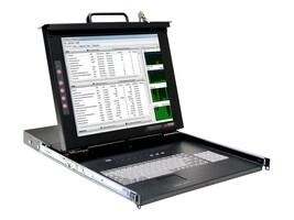 Rose 19 LCD Drawer Touchpad 1U KB DVI USB KVM Switch, RV1-CSKVT19/KVM-8TDVI/A1, 18172804, KVM Displays & Accessories