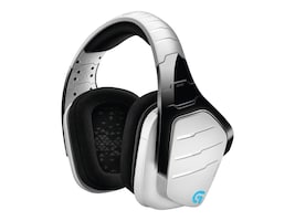 Logitech G933 Artemis Spectrum Wireless 7.1 Surround Sound Gaming Headset - White, 981-000620, 34341751, Headsets (w/ microphone)