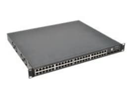 Supermicro SSE-G48-TG4 1U DM L3 Managed Switch 256MB RAM 32MB Flash 48xGbE 4xSFP, SSE-G48-TG4, 9960008, Network Switches