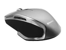 Verbatim Wireless Notebook 6-Button Deluxe Blue LED Mouse, Graphite, 98621, 21811638, Mice & Cursor Control Devices