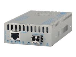 Omnitron iConverter 10 100 1000BT to Perp 10G 1G Fiber SFP+ 10GXT AC Power (US), 8580-0-A, 31799960, Network Transceivers