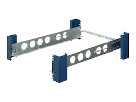 Innovation First Tool-Less Fixed Rack Rail, Square Hole for 4-Post Rack, 2U, 2UKIT-109-QR, 9392653, Rack Mount Accessories