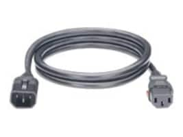 Panduit 10-Pack, Locking Power Cord, IEC C14-to-IEC C13, 2ft, LPCA11X, 36355997, Power Cords
