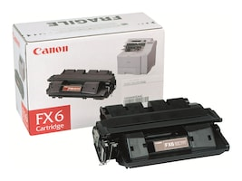 Canon Black FX-6 Toner Cartridge for Laser Class 3170 3175 Series Fax Machines, 1559A002, 4896692, Toner and Imaging Components