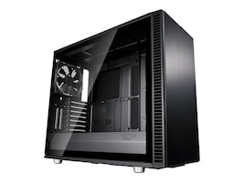 Fractal Design Chassis, Define S2 Tempered glass, Blackout, FD-CA-DEF-S2-BKO-TGL, 36225332, Cases - Systems/Servers